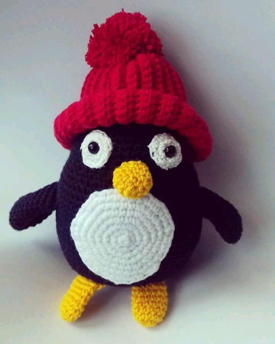 Pinguim Amigurumi   Elo7   1200x960