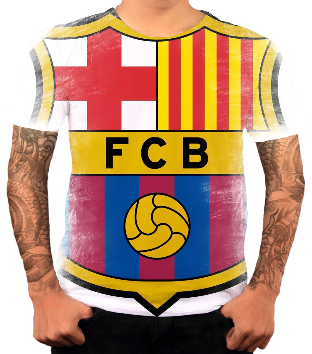 Camisa Camiseta Personalizada Time De Futebol Barcelona 02 no Elo7 ... d96cd708186d6