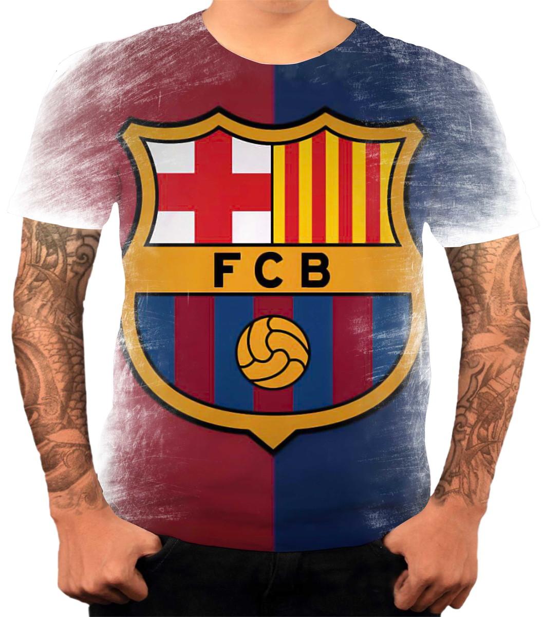 Camisa Camiseta Personalizada Time De Futebol Barcelona 03 no Elo7 ... 7efa598f22fc3