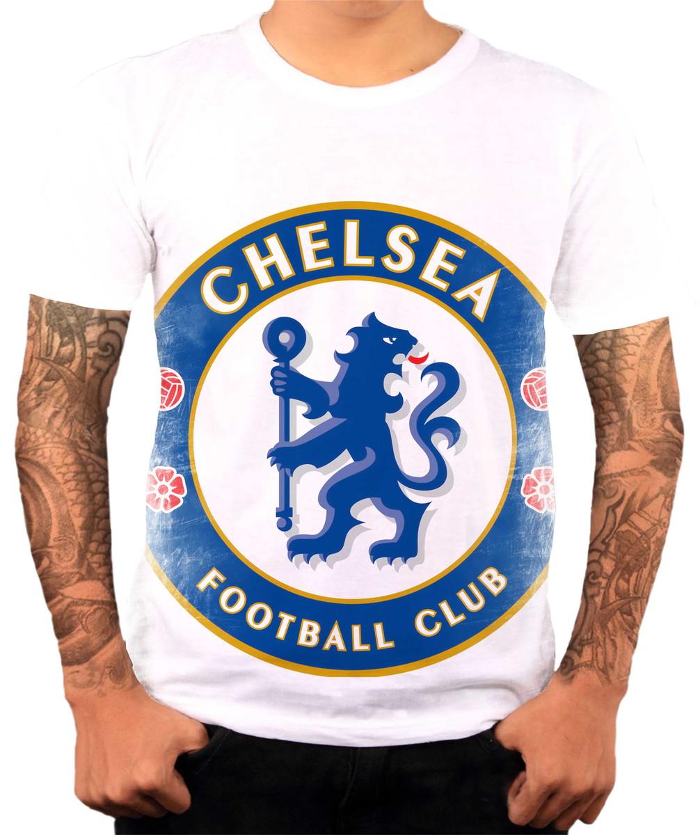 Camisa Camiseta Personalizada Time De Futebol Chelsea 2 no Elo7 ... 07add0e94b657