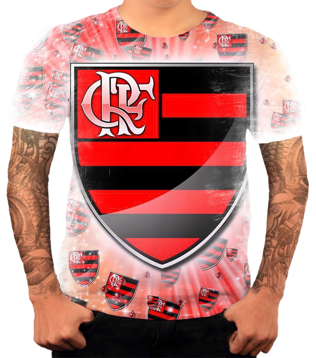 a8022b5b91 Camisa Camiseta Personalizada Time De Futebol Flamengo 03 no Elo7 ...