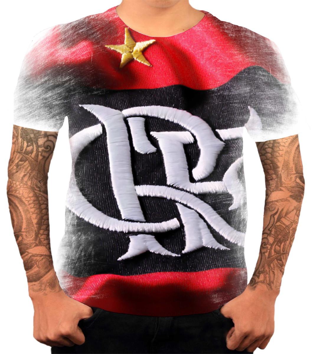 Camisa Camiseta Personalizada Time De Futebol Flamengo 04 no Elo7 ... dbc622dec85c5