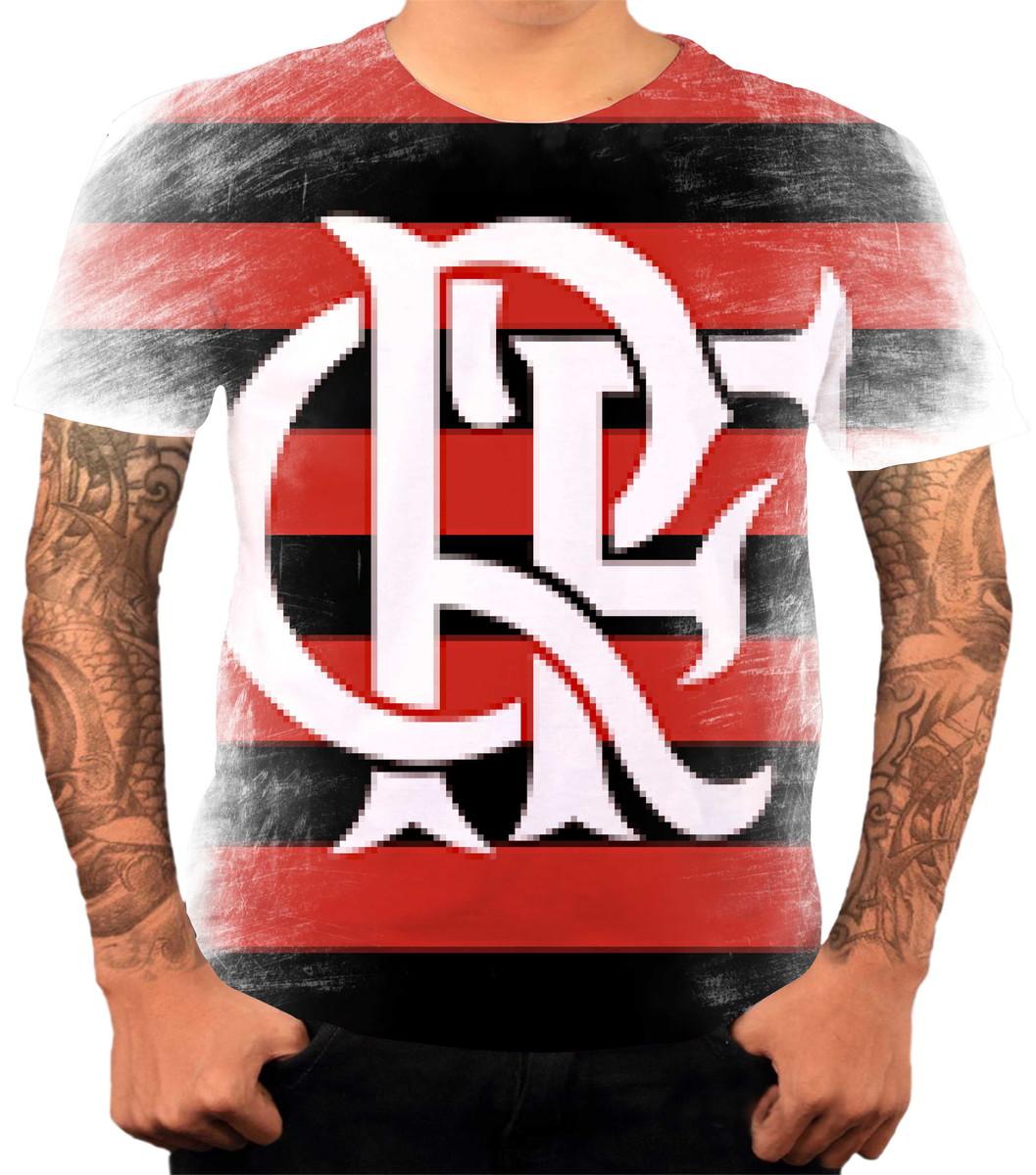 15ad06df7b Camisa Camiseta Personalizada Time De Futebol Flamengo 05 no Elo7 ...