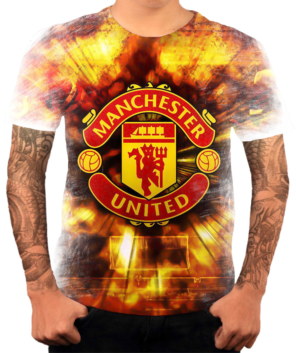 Camisa Camiseta Personalizada Time Manchester City United 1 no Elo7 ... ffc3c4e5baa2e
