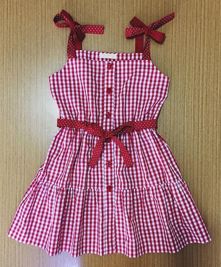 Resultado de imagem para vestido de xadrez vermelho e branco