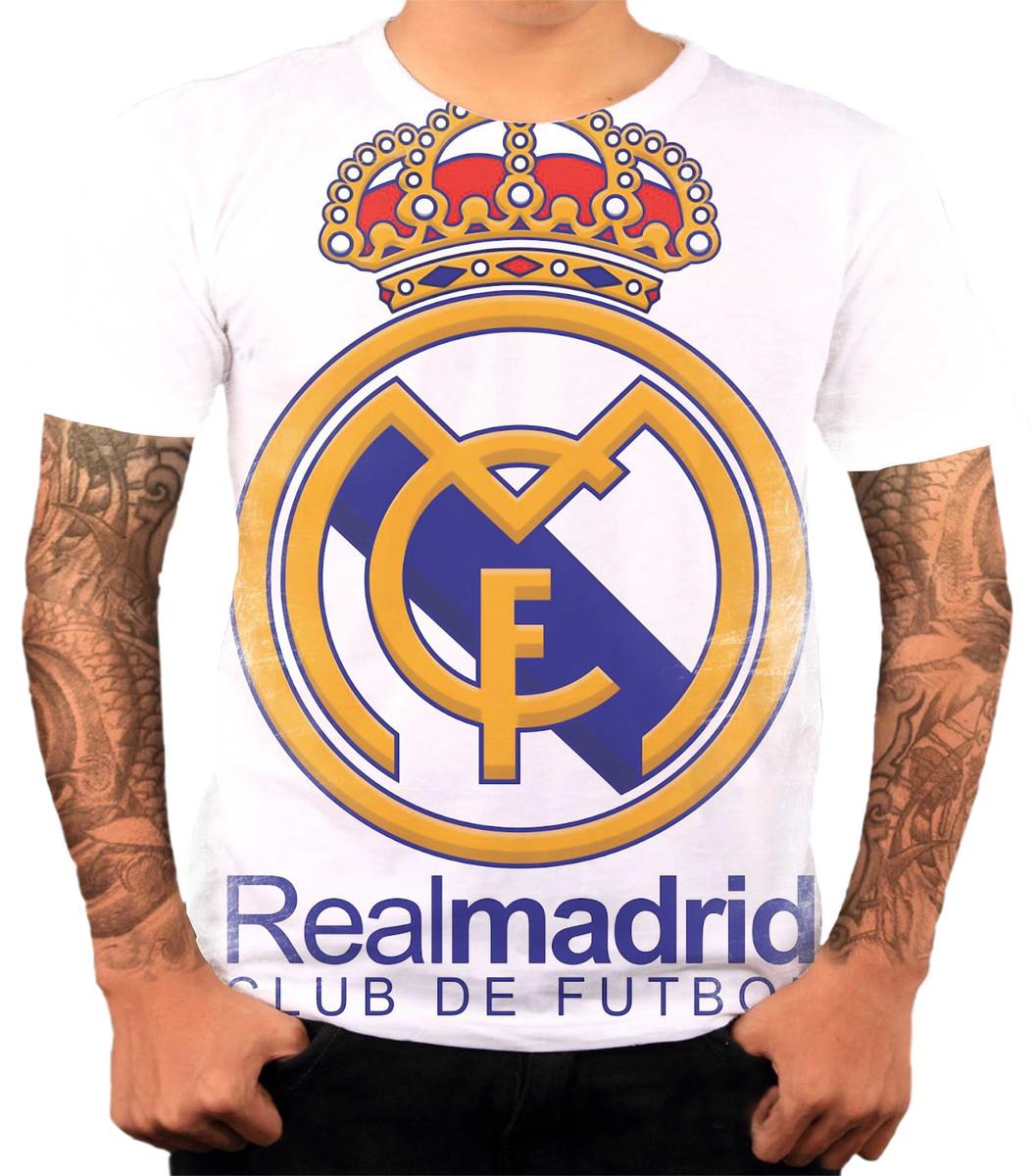 ba3815662be5e Camisa Camiseta Personalizada Time De Futebol Real Madrid 1 no Elo7 ...
