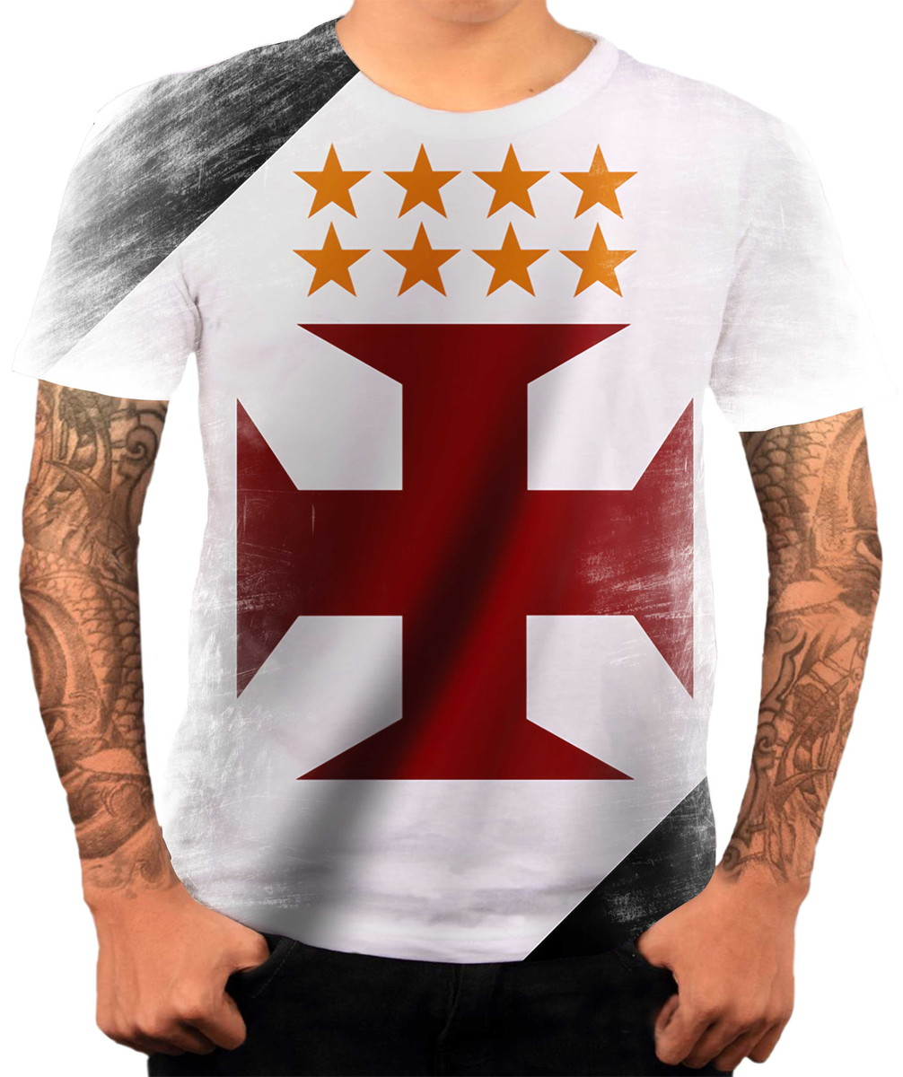 Camisa Camiseta Personalizada Time De Futebol Vasco 4 no Elo7 ... 98491cdafc4b8