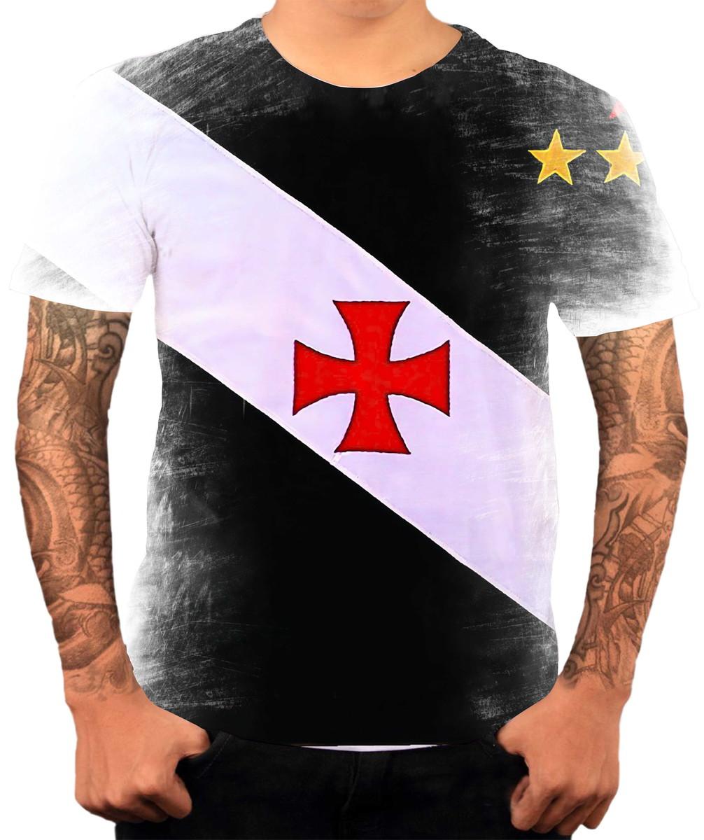 0e3d627c7d244 Camisa Camiseta Personalizada Time De Futebol Vasco 5 no Elo7 ...