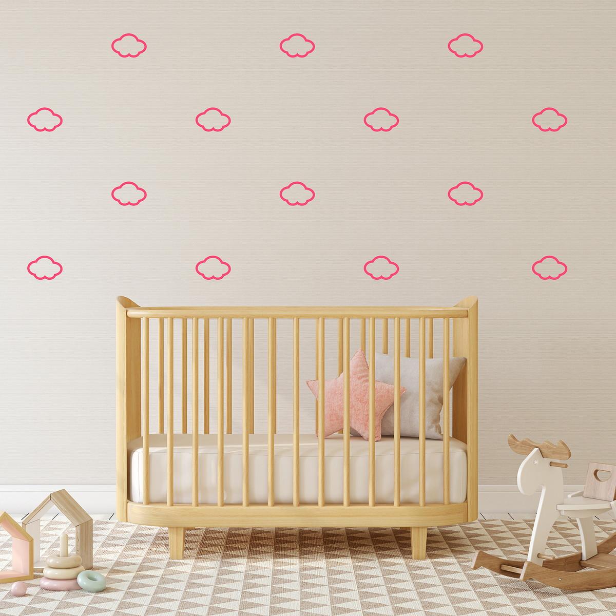 Zoom · Adesivos de parede Nuvens vazadas - 8 f64d9b9084f0d