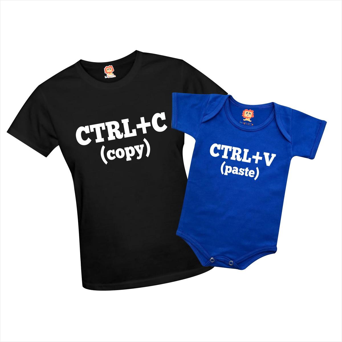 d54a415bd Camiseta e Body CTRL+C   CTRL+V - Dia das Mães no Elo7