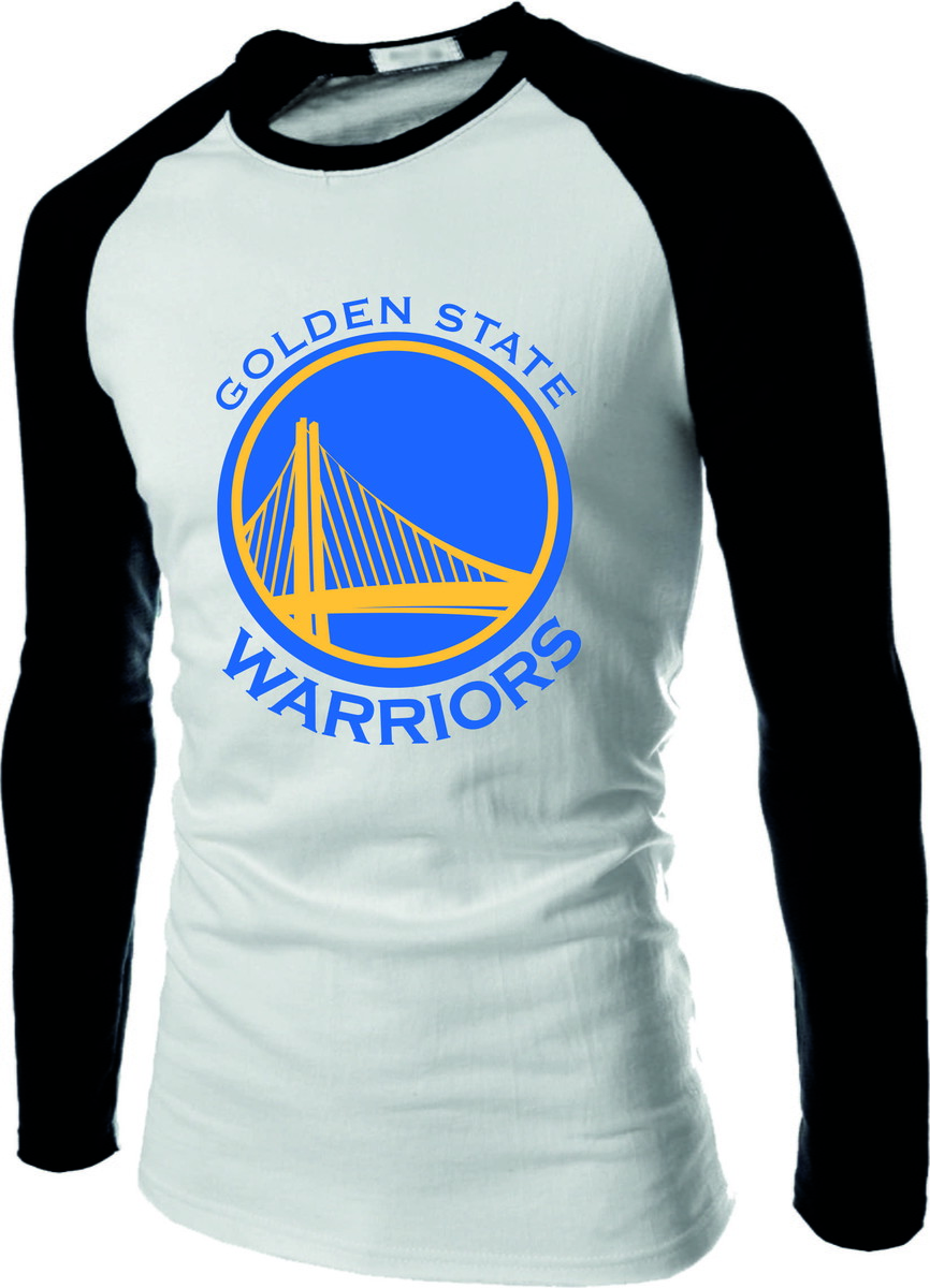 6b4026b01 Camiseta Raglan Manga Longa Golden State Warriors no Elo7 ...