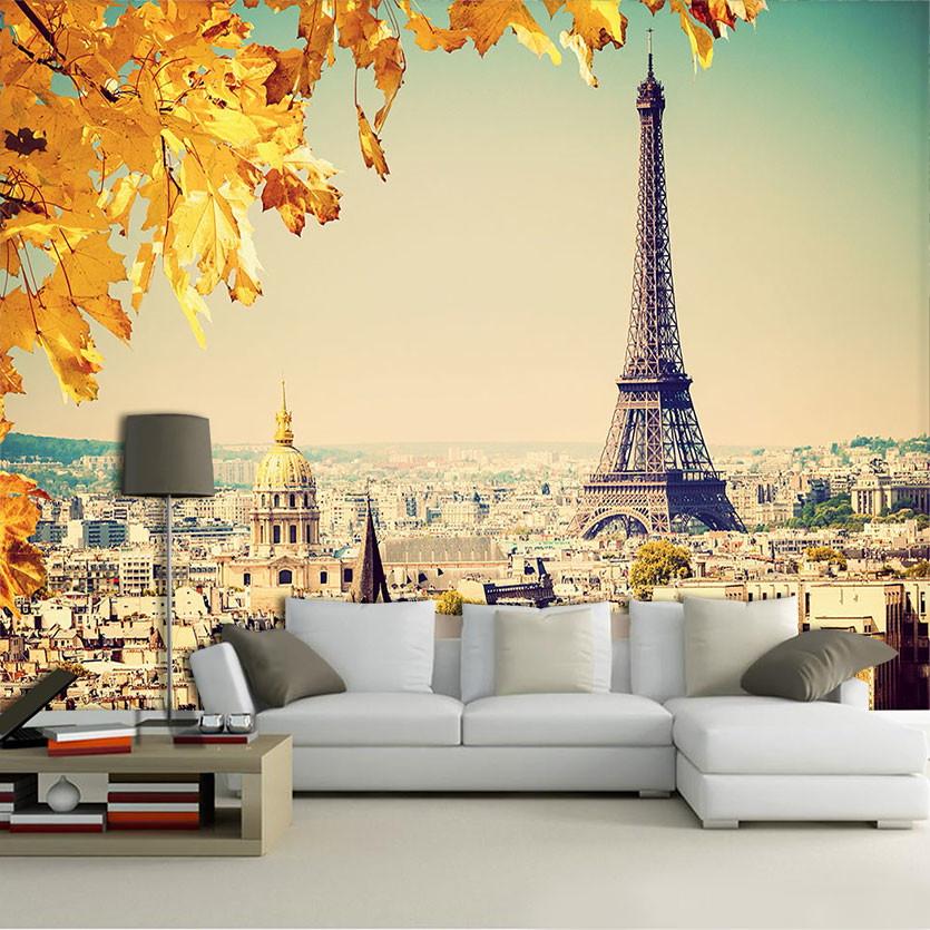 Papel de parede para sala 3d fran a 0008 no elo7 - Papel autoadhesivo para paredes ...