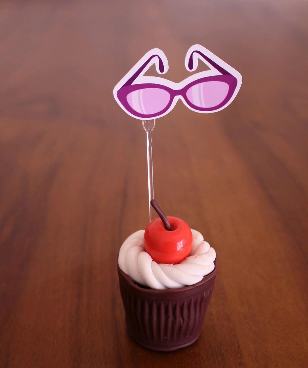 57858ad97 Colher para doce - óculos de sol no Elo7   A Carol que fez - festa e ...