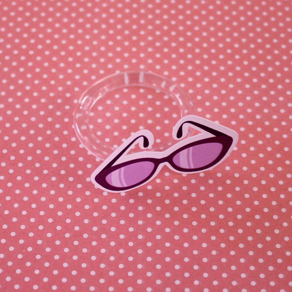 d013276e6 Porta-guardanapo - moda - óculos de sol no Elo7   A Carol que fez ...