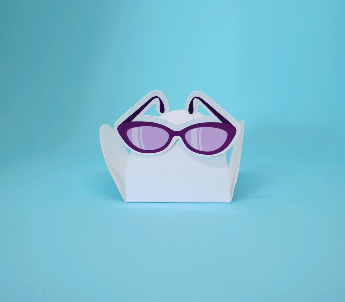 d0e512378 Forminha para doce - moda - óculos de sol no Elo7   A Carol que fez ...