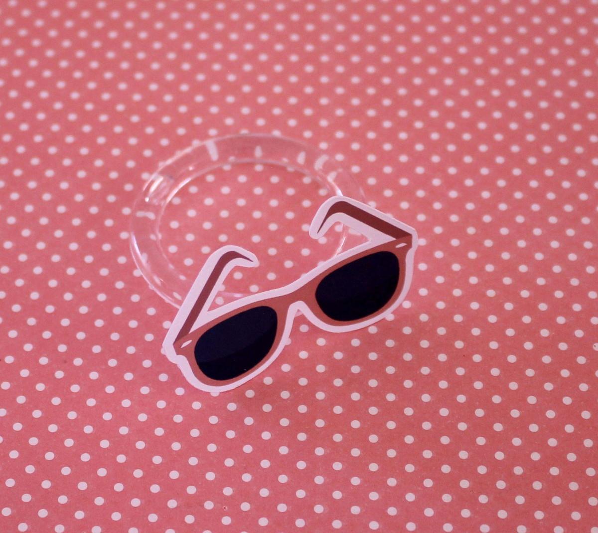 be3fd75ea5bb7 Porta-guardanapo - moda - óculos de sol no Elo7   A Carol que fez ...