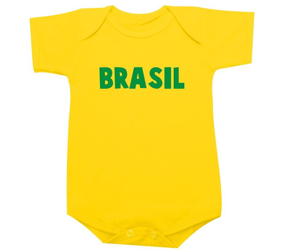 Brasil - Body de bebê ou camiseta infantil Copa no Elo7  e2e19deeb6264