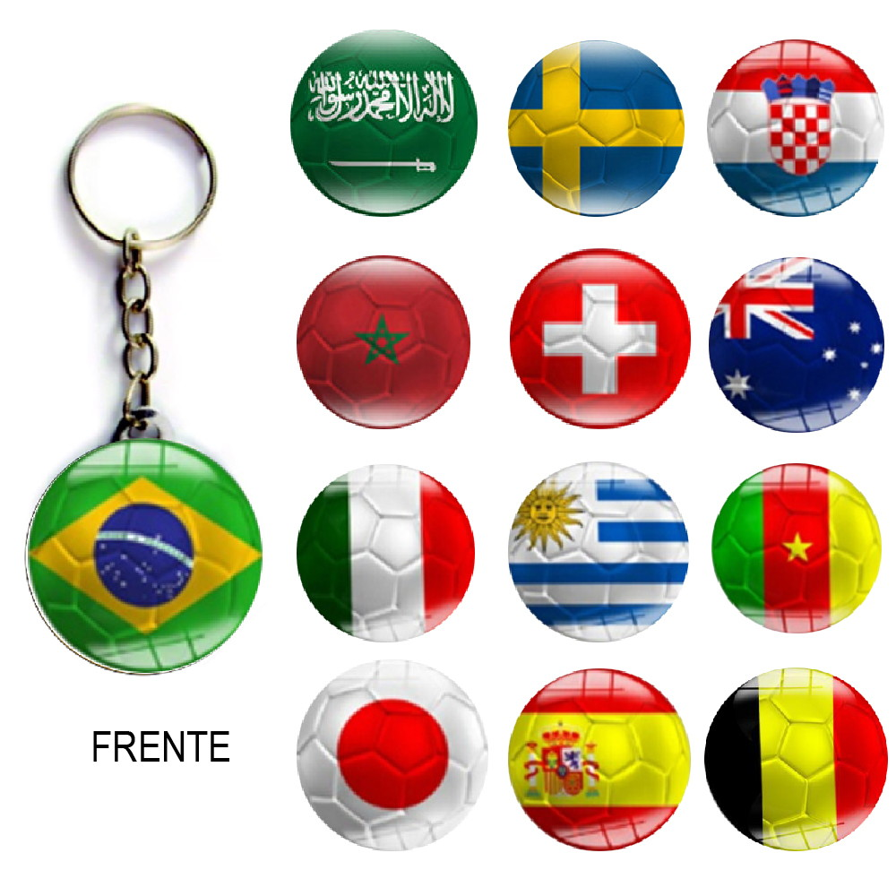 Chaveiro Festa Futebol ou Copa do Mundo no Elo7  180a02677d6ff
