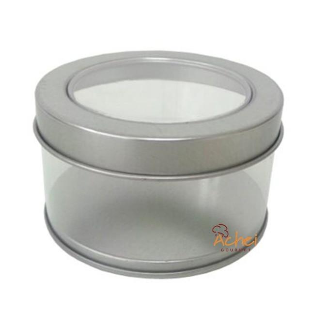 069650f37eb97 12 Latinha Redonda Com Visor 7,5cm no Elo7   Achei Gourmet (BDE802)