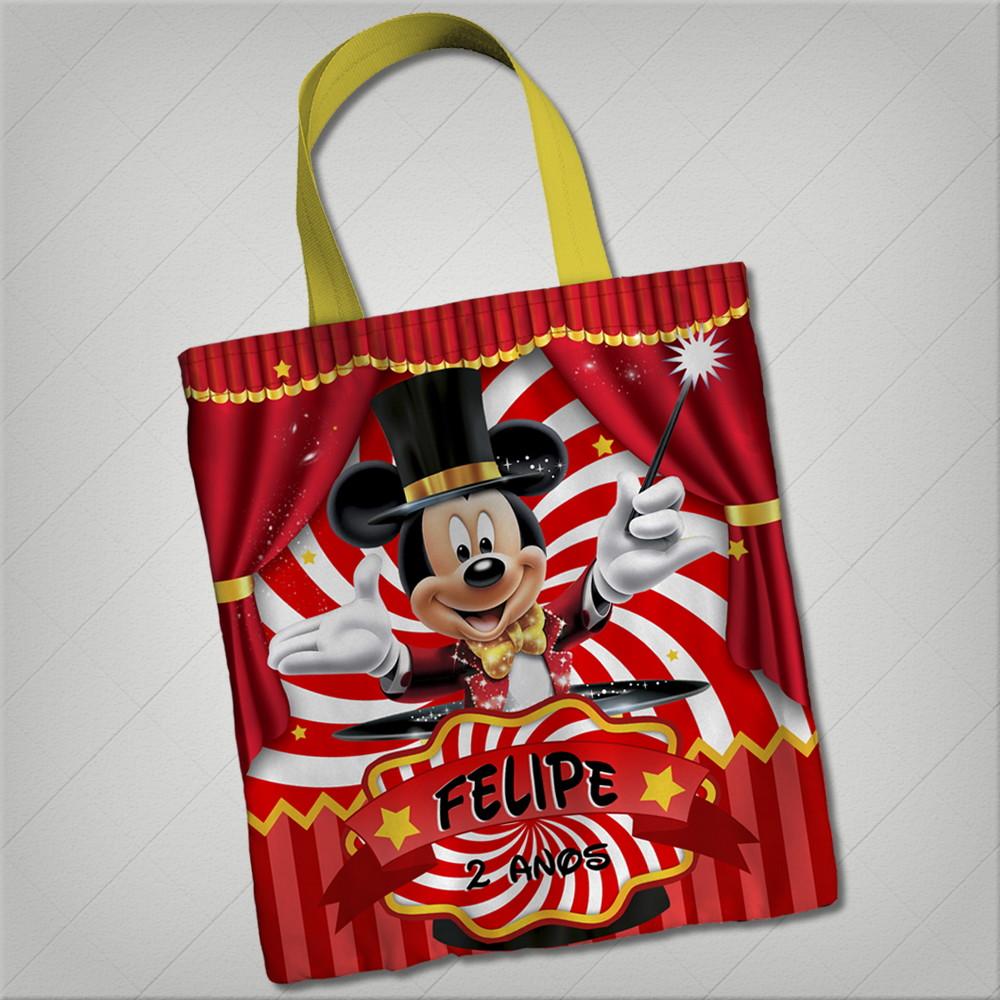 Bolsinha Circo Mickey 23x26 No Elo7 Tica Bela Bdf36d