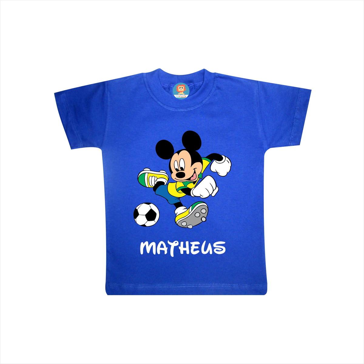 Body ou Camiseta Mickey Brasil Copa do Mundo no Elo7  be14d9fab534c