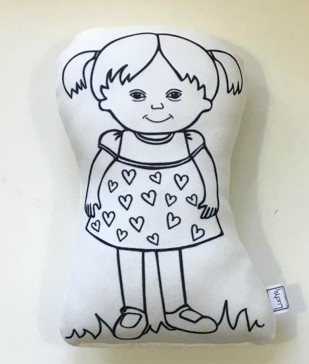 Boneca De Colorir Menina Molly G No Elo7 Ludyx Brinquedos