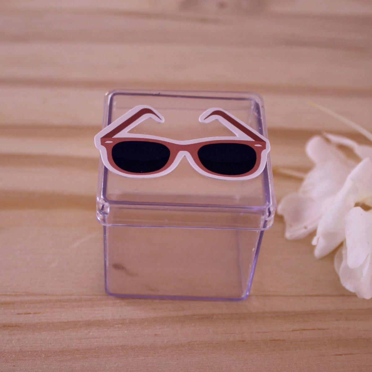 b712433dd Caixinha de acrílico - moda - óculos de sol no Elo7   A Carol que ...