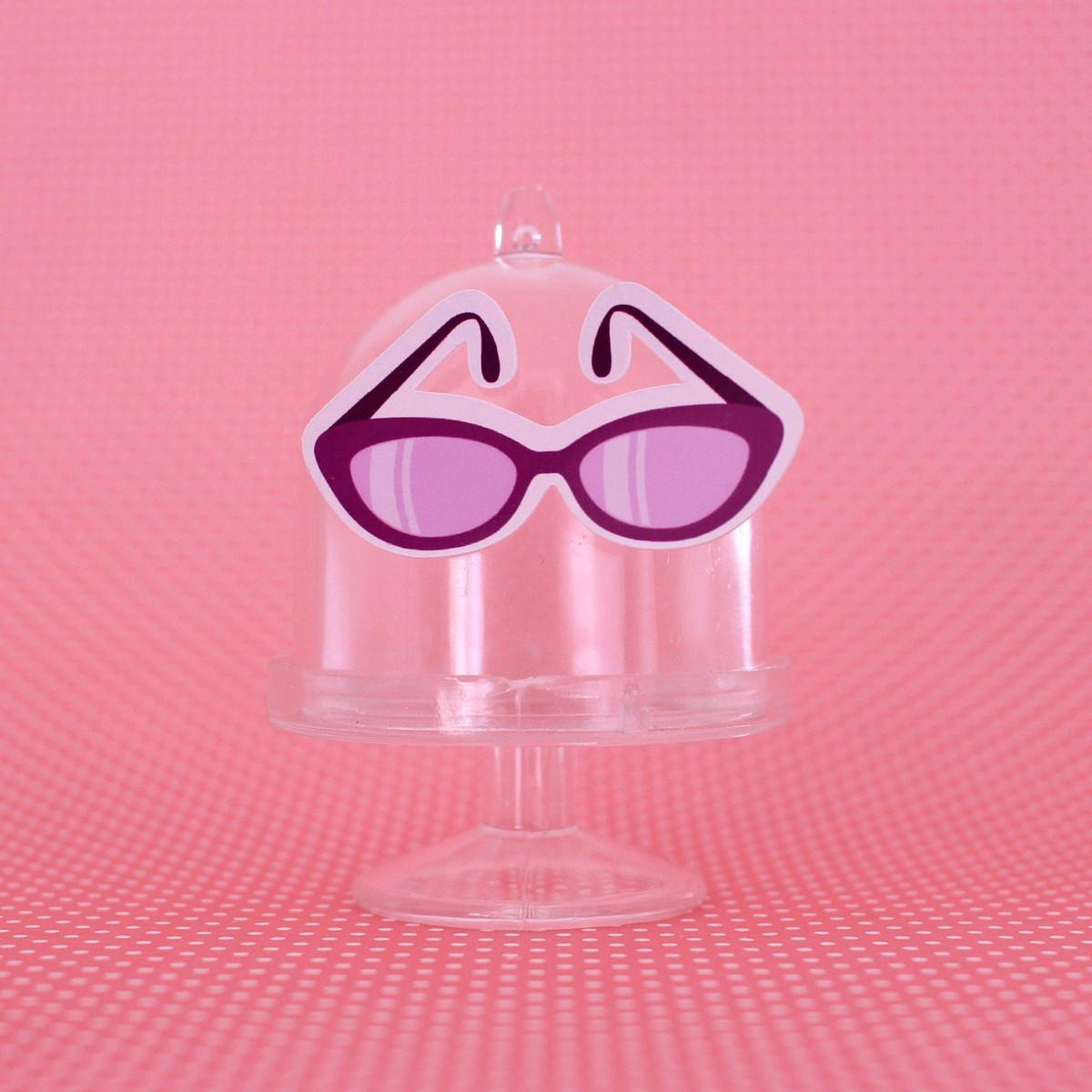 9449cbbb63bcf Mini-cúpula com aplique - moda - óculos de sol no Elo7   A Carol que ...