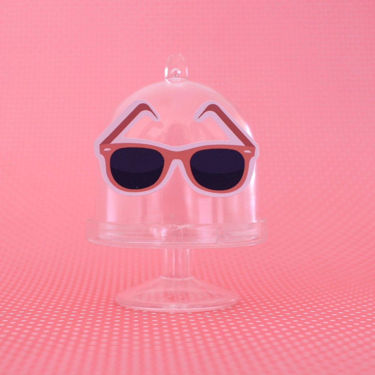e3dc01d64 Mini-cúpula com aplique - moda - óculos de sol no Elo7   A Carol que ...