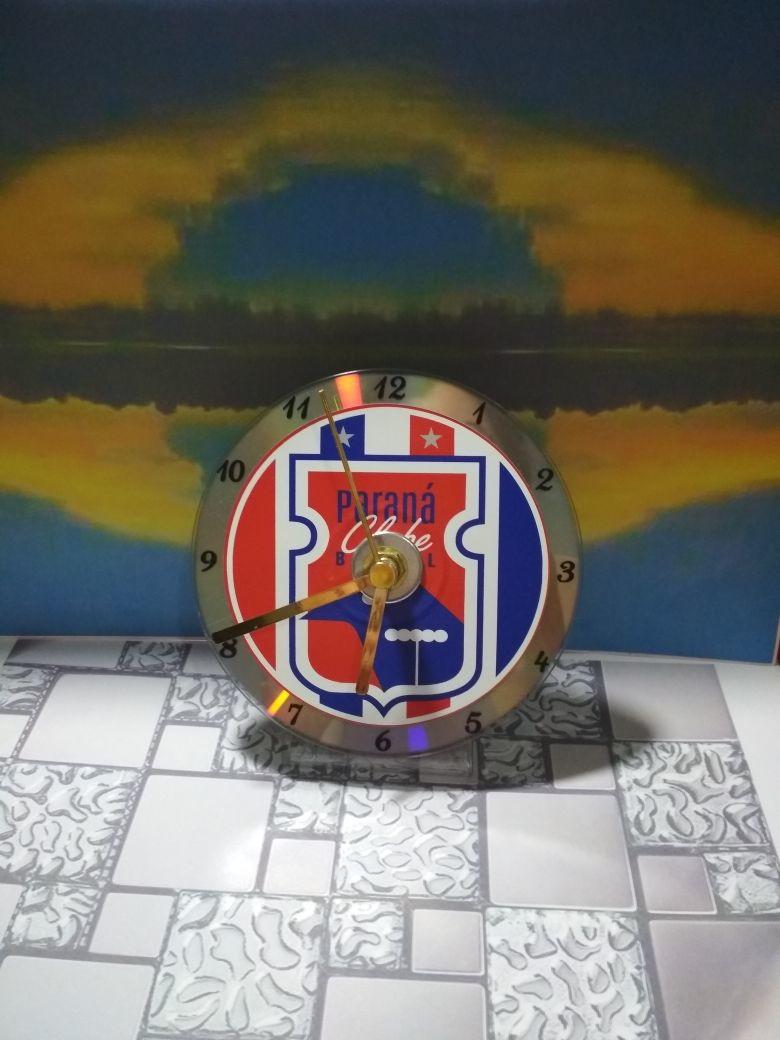 708d8d22520 Relógio de Mesa Paraná Clube no Elo7