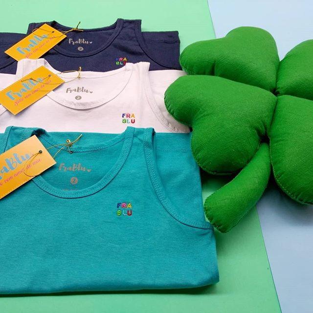 Camiseta Regata básica infantil no Elo7  4141dd96e57