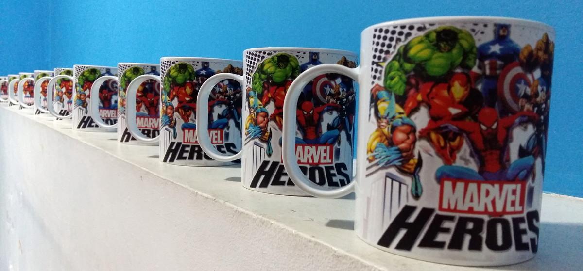 Caneca Infantil Personalizada da Marvel Vingadores Avengers no Elo7 ... dd838465a56