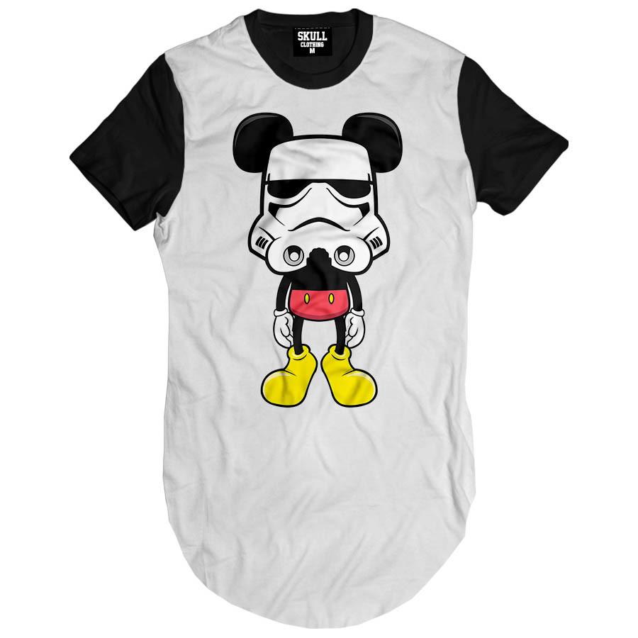 6cdd1c7ee2 Camiseta Longa Mickey Trooper Hip Hop camisa masculina Swag no Elo7 ...
