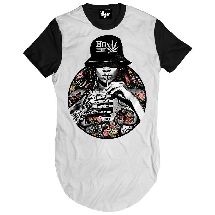 2cf5f8a6b Camiseta Longa swag masculina Rihanna Sexy Camisa Girl Swag no Elo7 ...