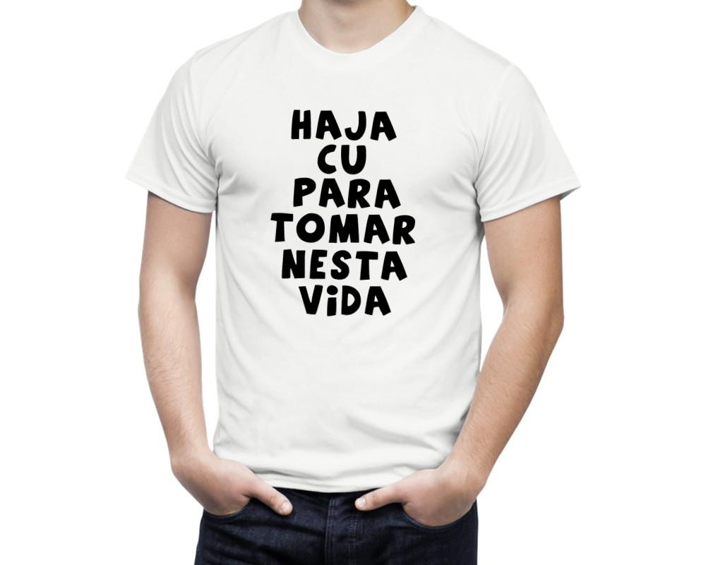 fed3b89f1696b Zoom · Camiseta Frases Haja... ...