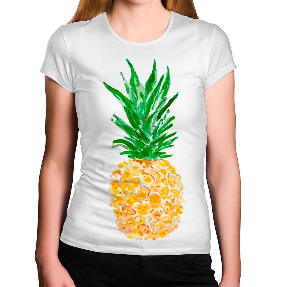 5de46d26b Camiseta Feminina Abacaxi no Elo7 | Criatics (BE9A08)