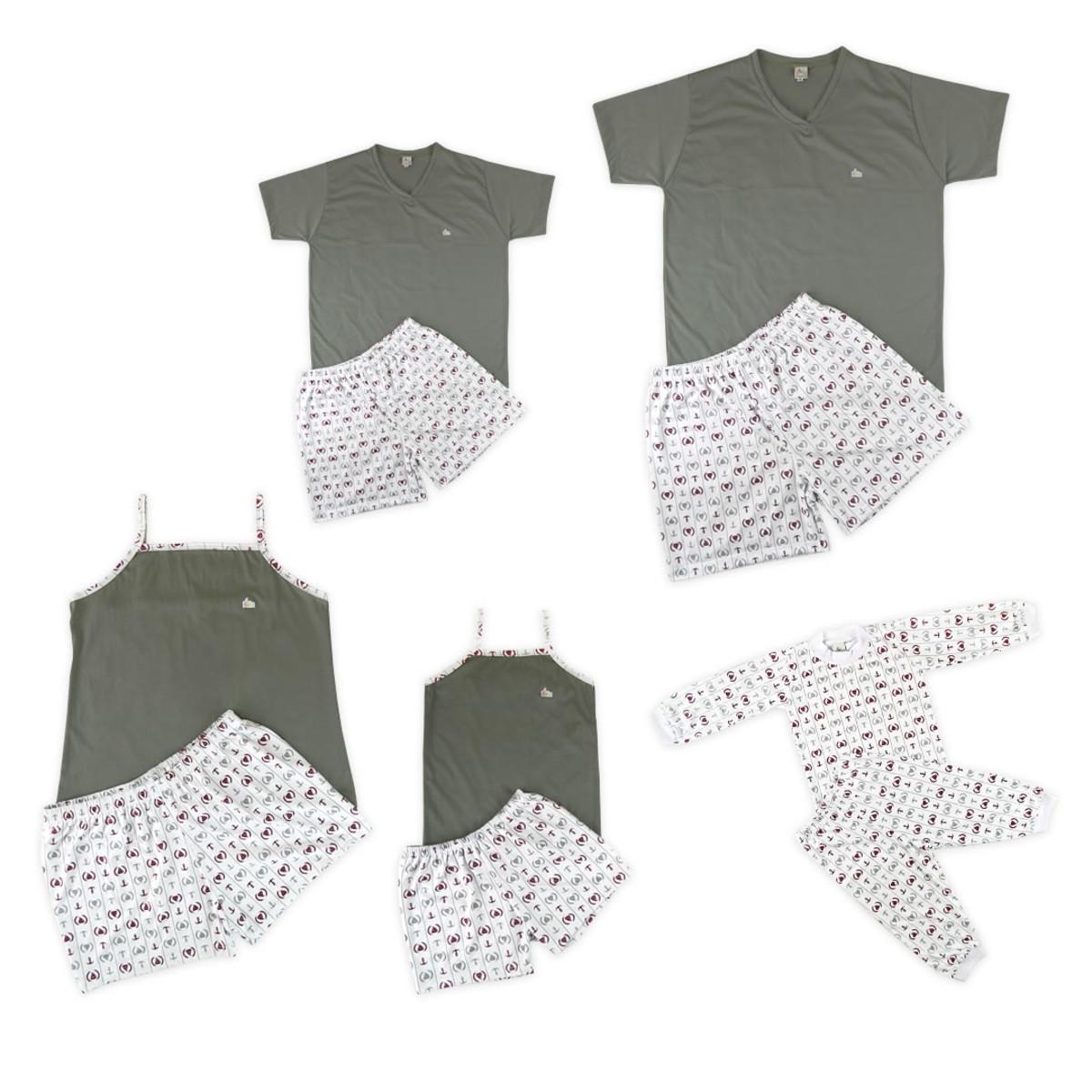 60cce7ce6 Zoom · Kit Pijama Família Náutico (Pai
