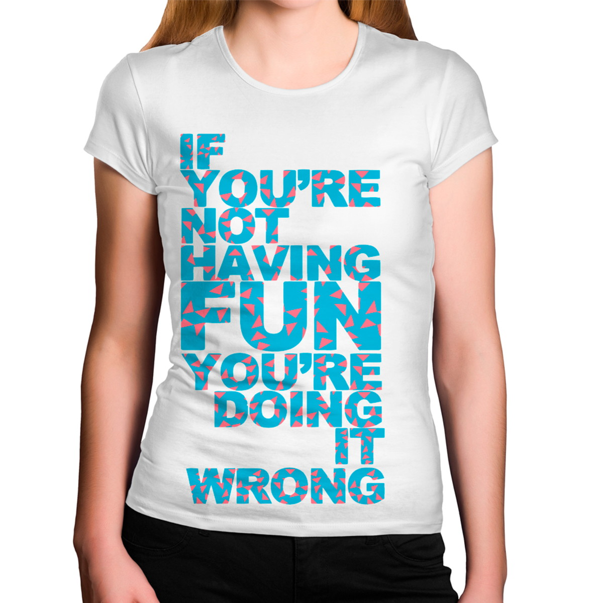 camiseta if youre t having fun youre doing it strong no elo7