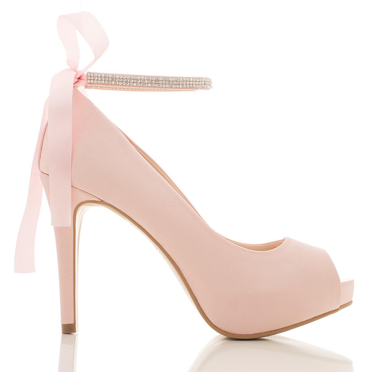 3e5a0488e Sapato de Noiva Rosa no Elo7 | AppleShoes (87E69F)