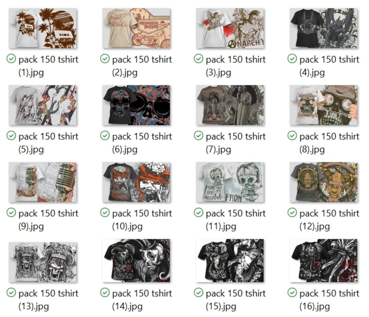 f4f49ff83536d 150 Artes Para Camisetas Em Vetores Editáveis + Mockups no Elo7 ...