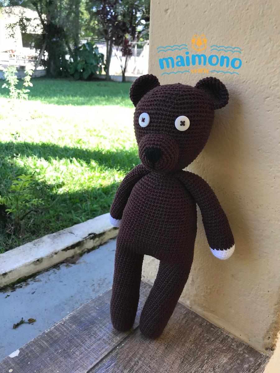 Amigurumi Mr.Bean's Teddy bear. Crochet pattern. Languages ...   1200x900