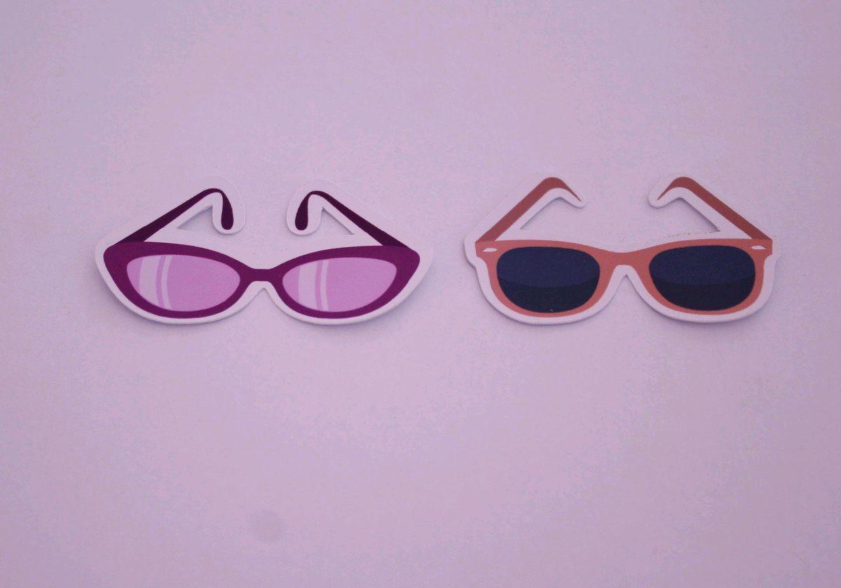2ed4c654837c1 Aplique adesivo tag - moda óculos de sol no Elo7   A Carol que fez ...