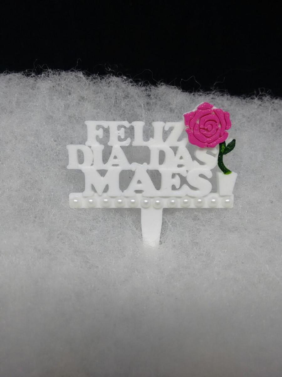 Enfeite Para Cuia De Chimarrão Dia Das Mães No Elo7 Rck