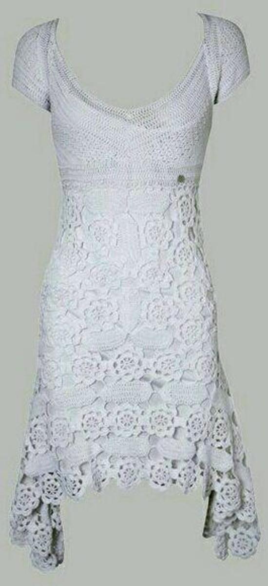 bb71f5438 Vestido Midi Crochê Adulto no Elo7   Bem_Me_Quer Crochê (BF1257)