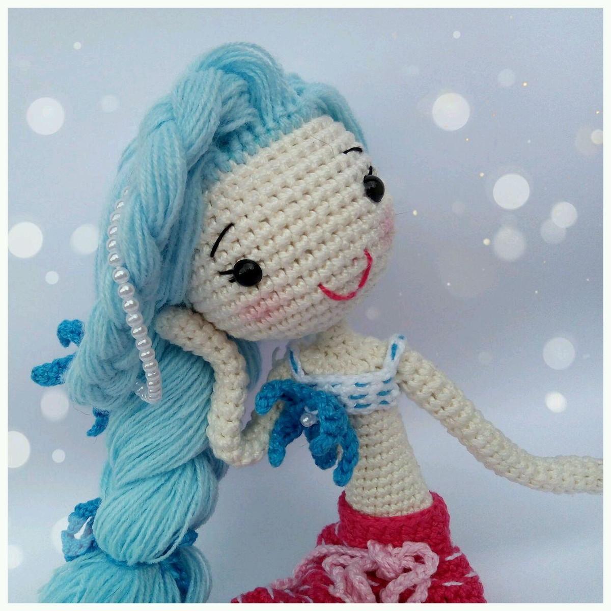 Sereia Anne Amigurumi em croche - YouTube   1200x1200