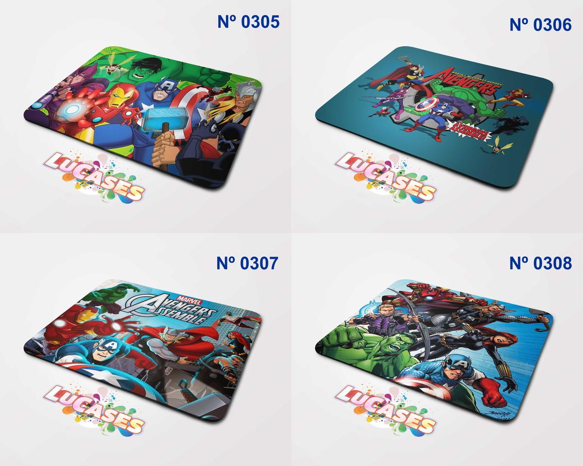 mouse pad os vingadores desenho avengers hulk capitão thor no elo7