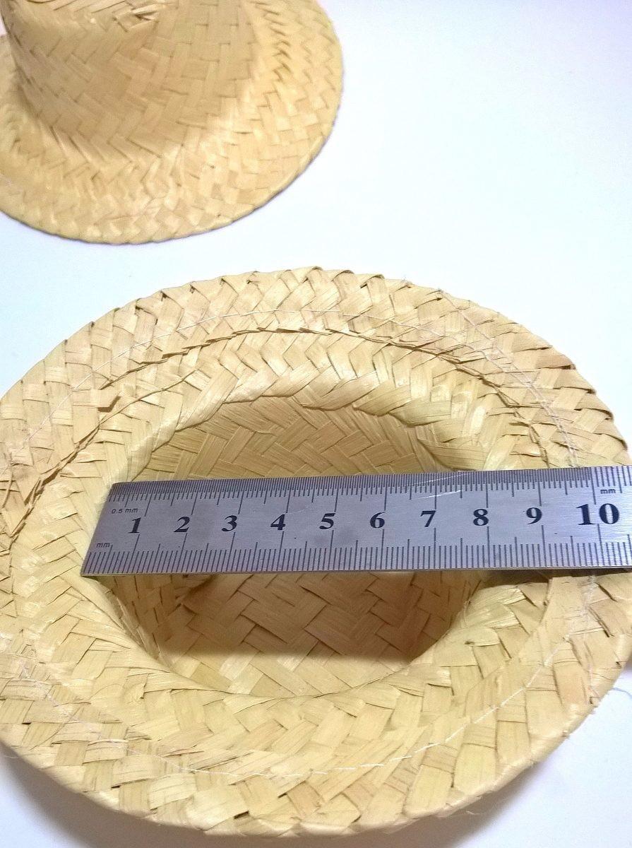 812a4bdfe22ee Chapéu De Palha Pequeno Lembrancinha Junina Enfeite 10 Un. no Elo7 ...