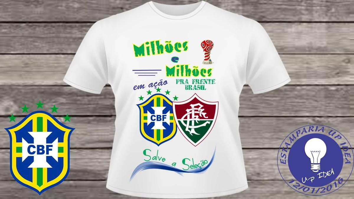 Camiseta Copa do Mundo Personalizada (adulto infantil)  181 no Elo7 ... d3d5f46805a43