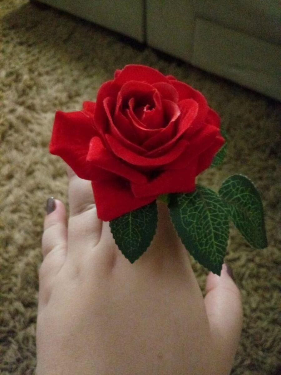 Pg Rosa Vermelha No Elo7 Mesa Caprichada Bfbcf0