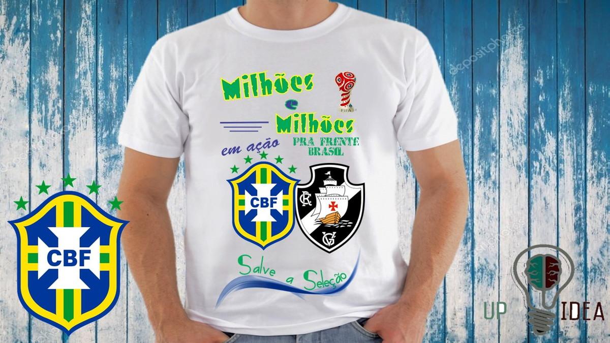 9dc490f520 Camiseta Copa do Mundo Personalizada (adulto infantil)  181 no Elo7 ...